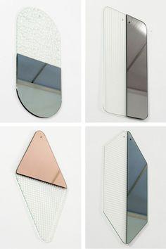 Atipico, 2014MIRRORSMaterials: texturized glass, mirror