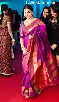 Vidya Balan in Traditional Saree