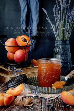 confiture aux abricots et lavande