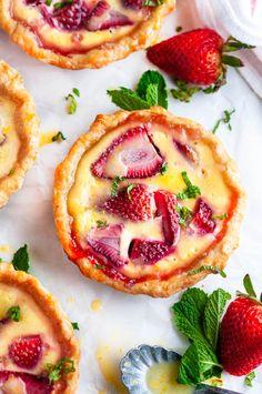 Tart Recipes, Sweet Recipes, Baking Recipes, Dessert Recipes, Easy Pie Recipes, Kitchen Recipes, Just Desserts, Delicious Desserts, Yummy Food