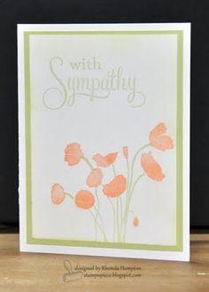 papertrey ink sympathy card