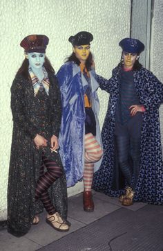 Trojan, Leigh Bowery and David Walls. Kings Road, London, 1983. ©Hartnett/PYMCA