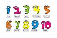 numbers in Greek