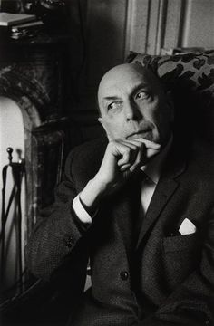 Henri Michaux, Paris,1964 Auteur : Freund Gisèle