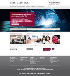Wichmann GmbH Corporate Website, 2013