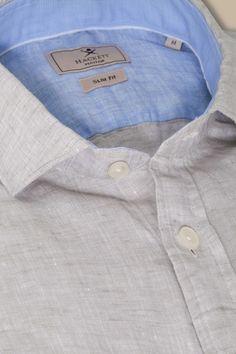Hackett Mayfair Plain Linen Shirt - New arrivals - Clothing - Men | Hackett