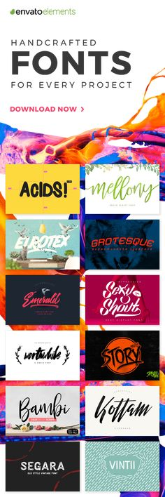 Unlimited Downloads of 2018's Best Fonts