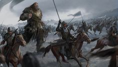 ArtStation - GoT 6 - Battle of Bastards, karakter design studio