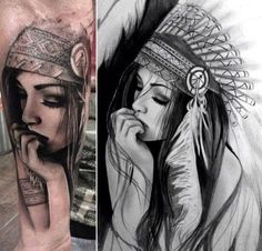 An awesome and beautiful tatt but I probably won't get if done on me.