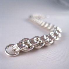 chain maille patterns | ... this pattern is just called a 3-in-3 pattern, or something like that