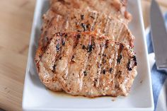 With three simple ingredients in the marinade, these tender grilled pork chops are bound to become a summer (or year-round!) favorite!