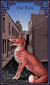 The Fox for the Burning Serpent Oracle, Robert M Place