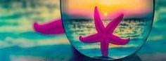 Starfish Beach ~ FB Cover Facebook Timeline Photos, Cover Pics For Facebook, Facebook Header, Timeline Cover Photos, Covers Facebook, Summer Cover Photos, Fb Background, Facebook Background Color, Fb Banner