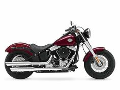 2014 Harley-Davidson Softail Slim Mysterious Red Sunglo