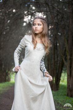 ERMÄßIGTEN PREIS Mittelalterliche Leinenkleid Fairy von armstreet