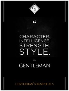 Daily Quote   Gentleman's Essentials