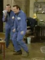 Lenny and Squiggy do the twist!  Laverne & Shirley is this year's Fan Favorite at the #tvlandawards. Tune-in April 29th, 9PM/8C, only on @TVLand