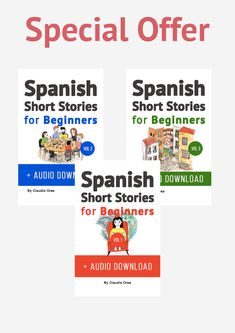 Download free spanish short stories for beginners 8 unconventional get the spanish story books for beginners written in spanish and english audio included fandeluxe Choice Image