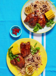 This quick and easy, slimming-friendly Jerk Chicken brings some Caribbean sunshine to dinner – whether you're calorie counting or following a plan like Weight Watchers. Cube Steak Recipes, Oven Recipes, Healthy Chicken Recipes, Cooking Recipes, Cuban Recipes, Yummy Recipes, Dinner Recipes, Slimming World Recipes Syn Free, Dessert
