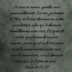 Jean 14 : 15-17   L'Epouse de Christ