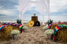 Have your ceremony on the beach and add a unique flare! #NowAmberPuertoVallarta #Mexico #DestinationWedding