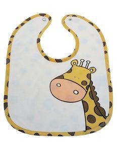 Prenatal Bavaglino interlock con giraffa