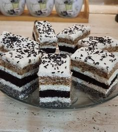 Hungarian Desserts, Hungarian Cake, Hungarian Recipes, Wedding Desserts, Baking Tips, Yummy Cakes, Sweet Recipes, Cheesecake, Food And Drink