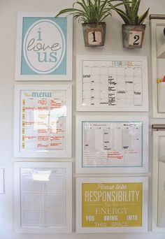 A diy home command center with a touch of farmhouse charm pinterest home command center talestrip diy solutioingenieria
