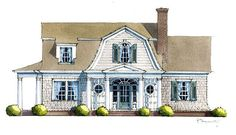 Looking for the best house plans? Check out the Sadie Springs Retreat plan from Southern Living. Southern Living House Plans, Simple House Plans, Best House Plans, Country House Plans, Modern House Plans, House Floor Plans, Dutch Colonial Homes, Colonial House Plans, Ranch House Plans