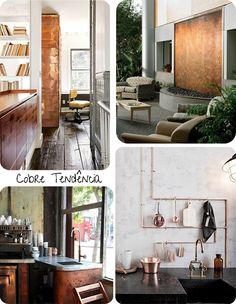 decoração cobre -pinterest - Pesquisa Google