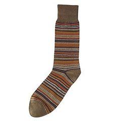 Kenneth Roberts® Men's Marled Multstripe Crew Socks