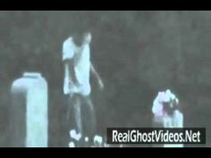 Ghost behind a crying man  Real Ghost!!