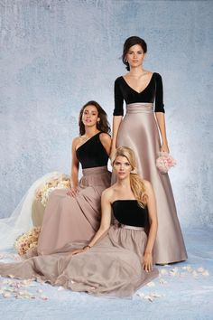 c0d57615220 Size 16 Black-Rum Pink Alfred Angelo 7343L Long Bridesmaid Dress