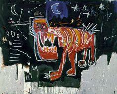 Jean-Michel Basquiat - Underground Painting - Neo Expressionism - Dog
