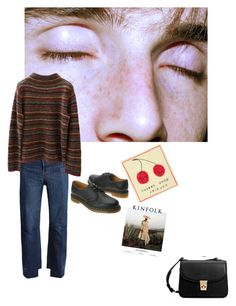 """""""I'm so tired of this anxiety"""" by beautyisterror ❤ liked on Polyvore featuring Vetements, Dr. Martens, MANGO and Jones New York"""