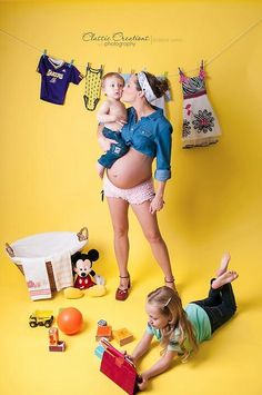 Maternity pin up...omg...soooo need a shot like this when i'm preggo with #2
