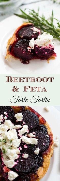 Beetroot & Feta Tart