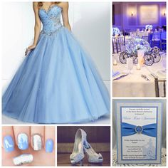 Cinderella Themed Quinceanera | Quinceanera Ideas | Quinceanera Decorations |