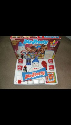 Mr Frosty...the worst toy ever...but he did make cool ice drinks in the summer, so he was forgiven