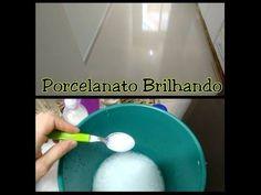Receita Caseira para limpar Porcelanato - YouTube