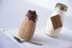 Vanilkový tapiokový puding s malinami - Zo srdca do hrnca