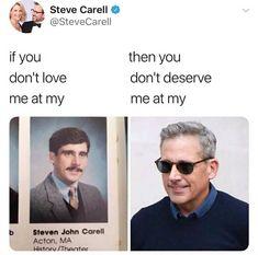 Steve Carell tweets