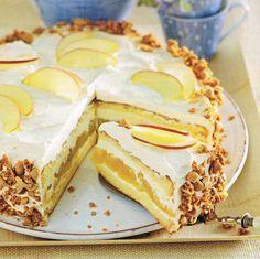 16 stukken - 3 eieren - zout - 200 g suiker - 3 zakjes vanillesuiker - 50 g bloem - 25 g maizena - 1,5 tl bakpoeder - 750 g en 1 k...