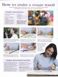 How to make a magic wand / Wicca
