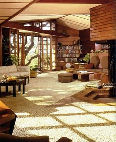 Frank Lloyd Wright, Paul and Jean Hanna House, Stanford, California, 1936