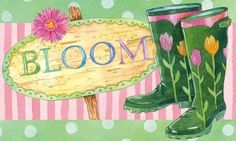 """Evergreen Boots and Bloom,Silk Reflections Indoor or Outdoor Floormat,30x18 Inches by Ashley Gifts. $18.99. Mildew resistant;Easy Care and Washable, Lay Flat or Hang to Air Dry. Please check ASIN: B0061I1WT8 for Doormat Frame. Polyester with Recycled Rubber Slide-resistant backing Backing,. The size is: 30""""x18"""". Anti-fague relief. These boots are such frequent guests to the garden that they've started to sprout blooms of their own! Tender pink and yellow tulips climb up th..."""