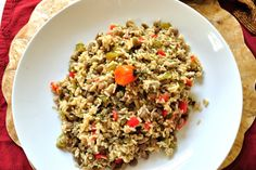 Gluten Free Sides Dishes, Gluten Free Recipes, Rice And Pigeon Peas, Coconut Rice, Fried Rice, Side Dishes, Paleo, Island, Meals