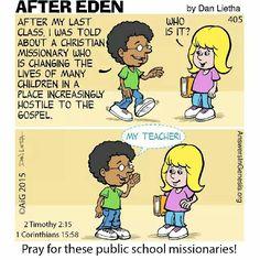 Public school missionaries