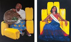"""Artist Jeremiah Quarshie Offers Glimpses into Contemporary Life in Ghana in latest series """"Yellow is the colour of water"""""""