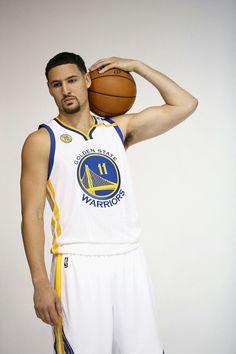 6c5360028509 Klay Thompson  2016GSWMediaDay Miami Heat Basketball